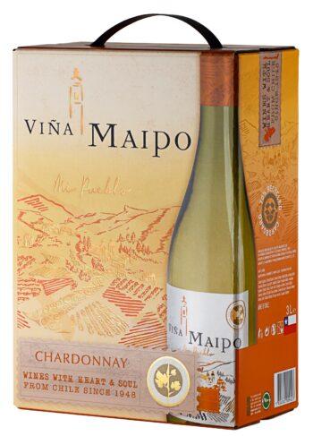 Vina Maipo Chardonnay 300cl BIB