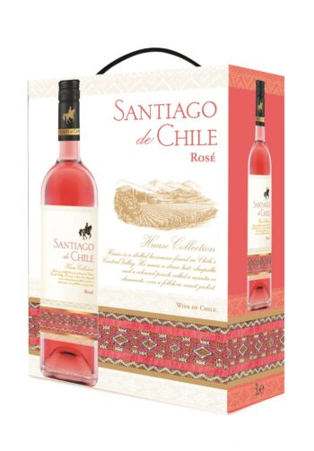 Santiago de Chile Syrah Rose 300cl BIB