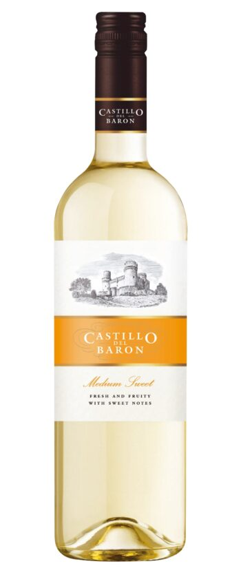 Castillo del Baron Medium Sweet White 75cl