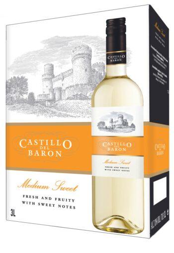 Castillo del Baron Medium Sweet White 300cl BIB