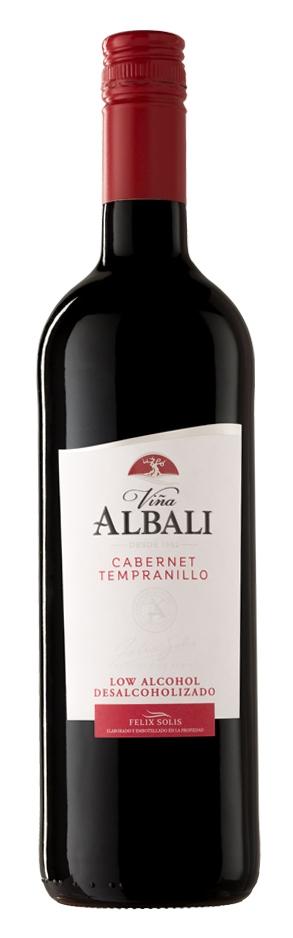 Vina Albali Cabernet Tempranillo Alcohol-free 75cl