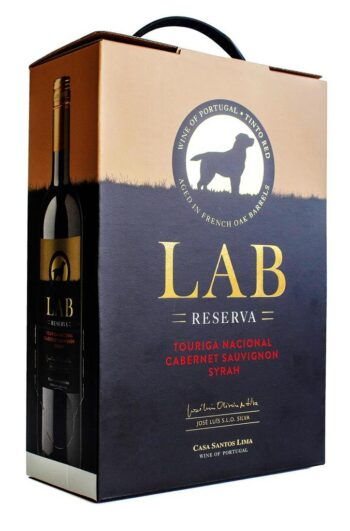 LAB Vinho Regional Lisboa Red Reserva 300cl BIB