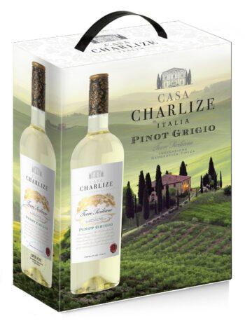 Casa Charlize Pinot Grigio Terre Siciliane IGT 300cl BIB