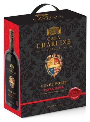 Casa Charlize Cuvée Forte Toscana Rosso IGT 300cl BIB