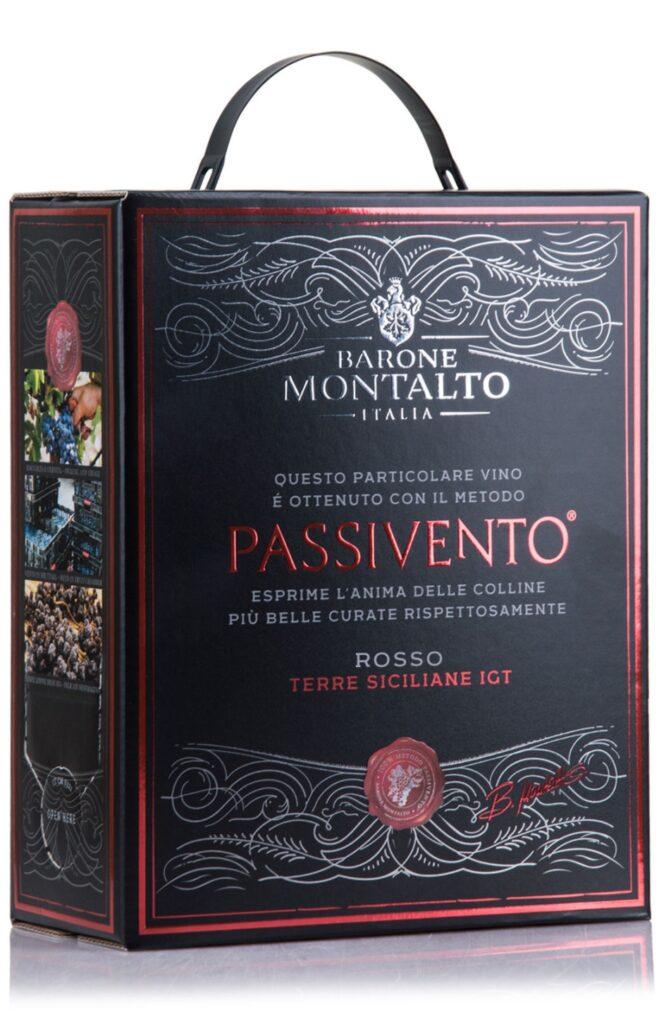 Barone Montalto Passivento Rosso 300cl BIB