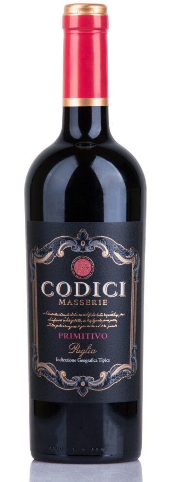 Codici Primitivo Puglia 75cl