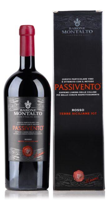 Barone Montalto Passivento Rosso 150cl giftbox