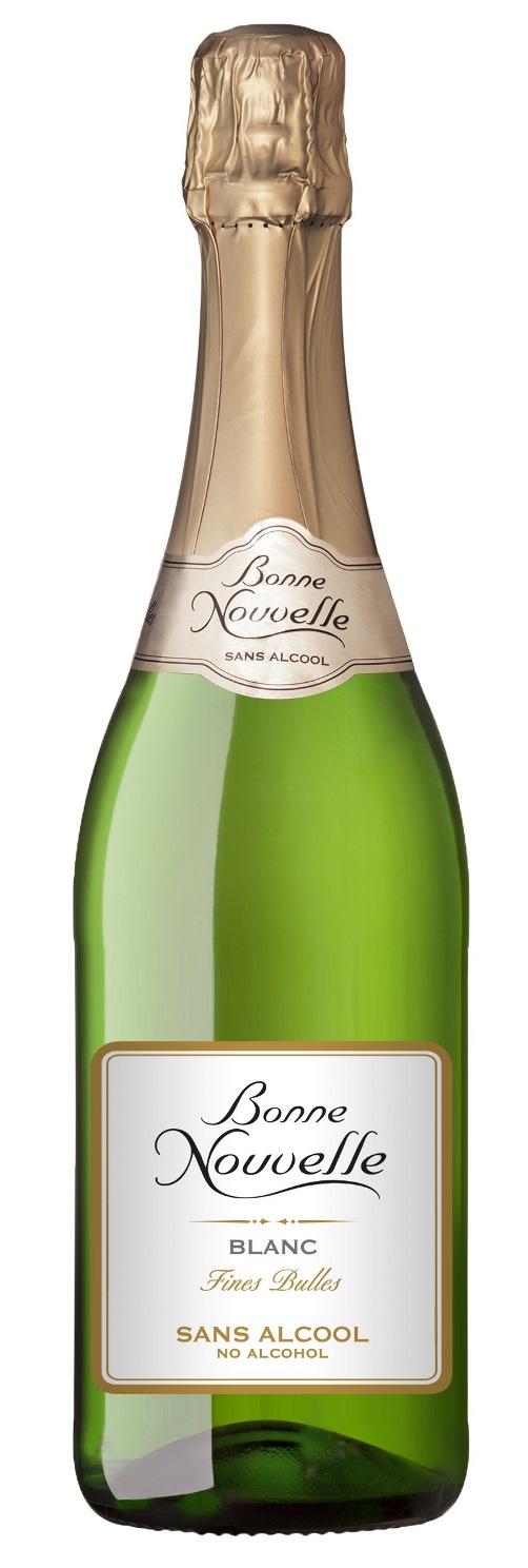 Bonne Nouvelle Blanc Fines Bulles Alcohol-Free 75cl
