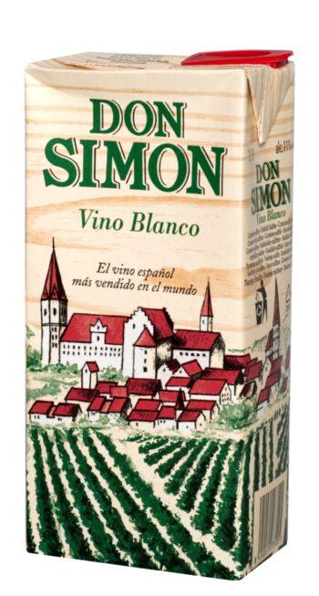 Don Simon Blanco 100cl tetra