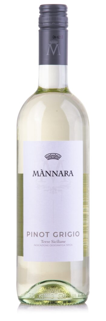 Mannara Terre Siciliane Pinot Grigio 75cl