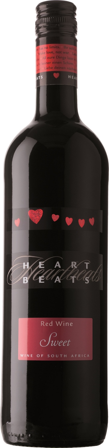Heart Beats Red Wine Sweet 75cl