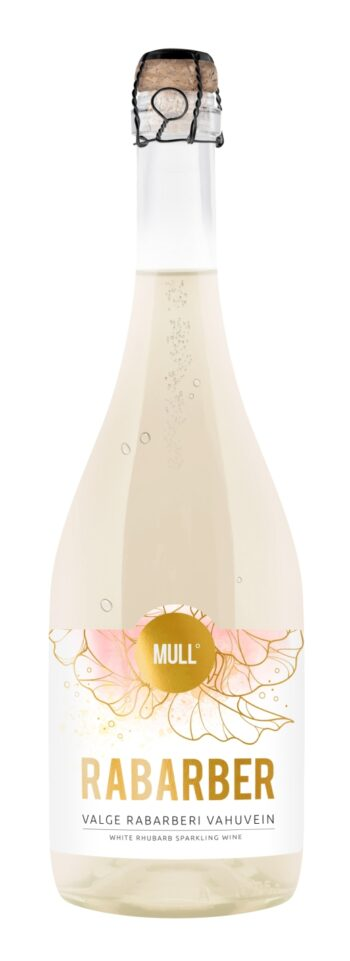 MULL Rabarber White Sparkling Wine 75cl