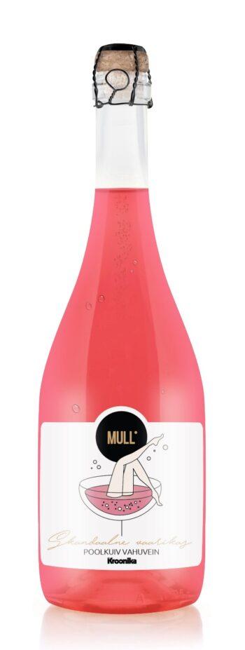 MULL Скандальное игристое вино с малиной 75cl