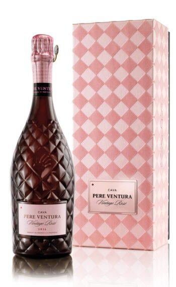 Pere Ventura Vintage Rose Gran Reserva Cava 75cl giftbox