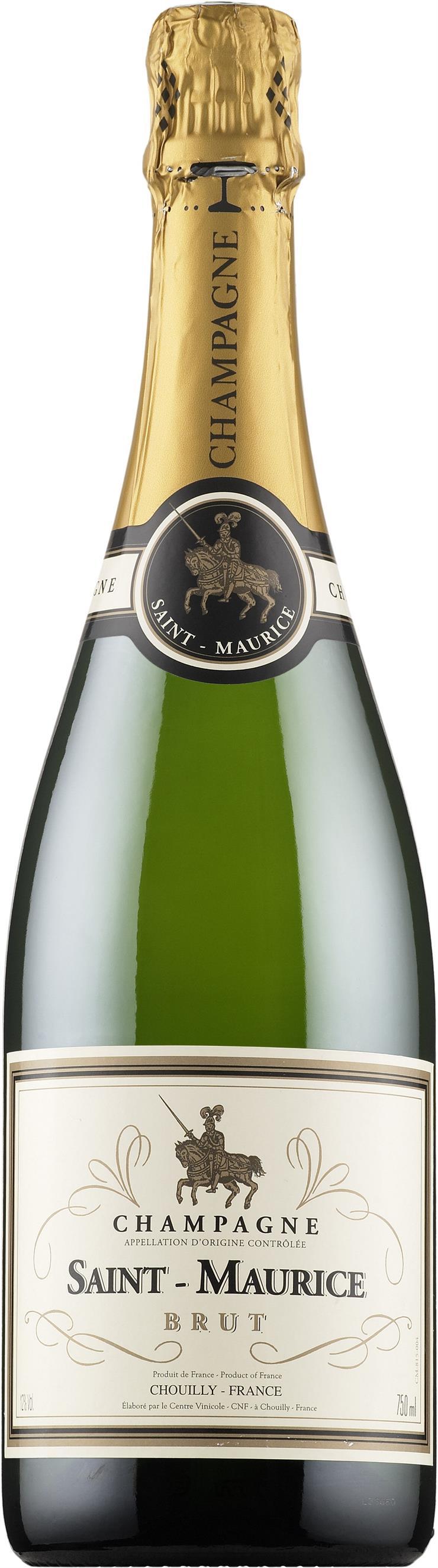 Saint Maurice Champagne Brut 75cl