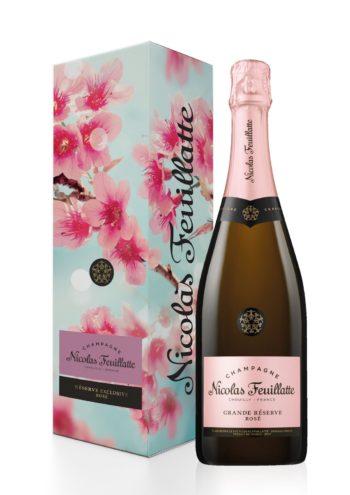 Nicolas Feuillatte Grande Reserve Rose Brut Champagne 75cl