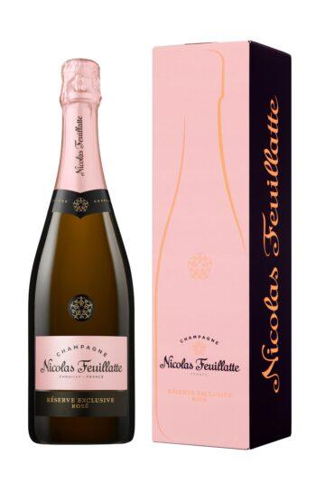 Nicolas Feuillatte Reserve Exclusive Brut Rose 75cl giftbox