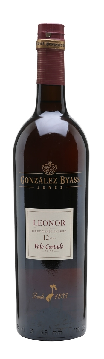 Gonzalez Byass Leonor Palo Cortado 12 Years Sherry 75cl