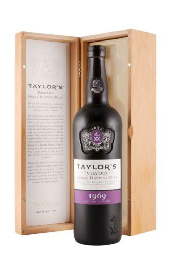 Taylor's Single Harvest Colheita Port 1969 75cl Подарочная коробка