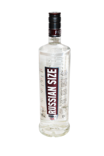 Russian Size Vodka Lux 50cl