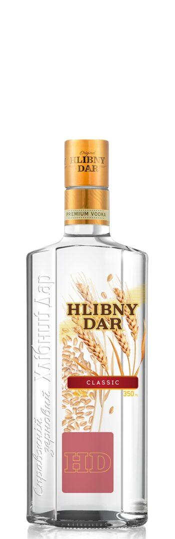 Hlibny Dar Classic Vodka 35cl