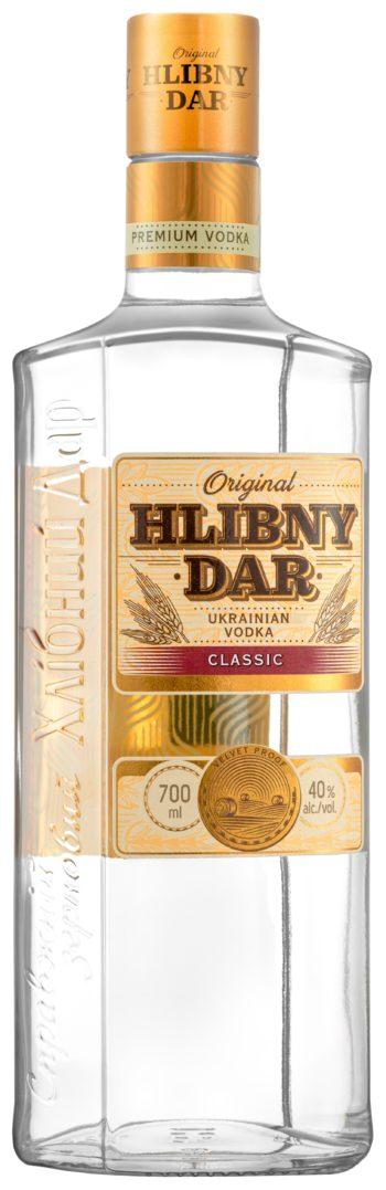Hlibny Dar Classic Vodka 70cl