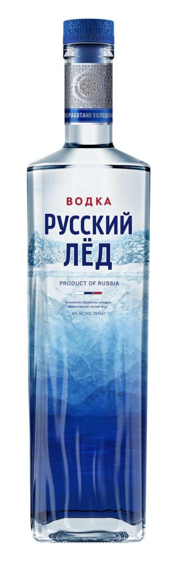 Russkii Ljod Vodka 70cl