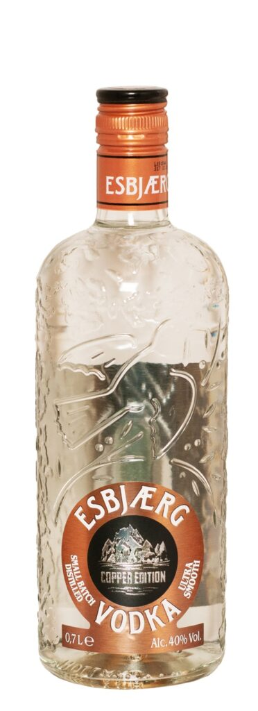 Esbjaerg Vodka Copper Edition 70cl