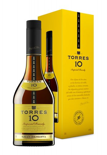 Torres 10 Brandy 70cl giftbox