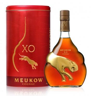 Meukow Cognac XO 50cl metalbox