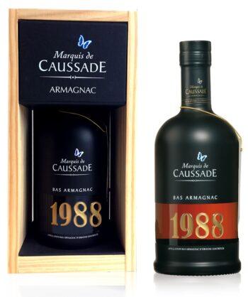 Marquis de Caussade 1988 Armagnac 70cl puitkarp
