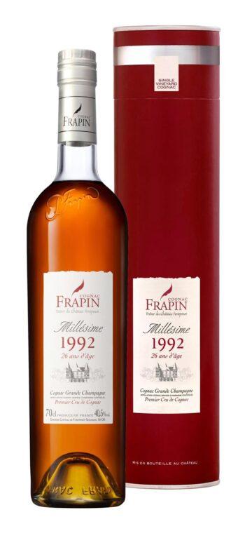 Frapin Vintage 1992 Grande Champagne Cognac 70cl giftbox