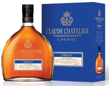Claude Chatelier Cognac VSOP 70cl giftbox