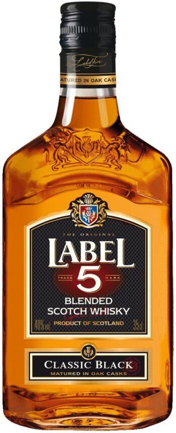 Label 5 Classic Black Scotch Whisky 35cl