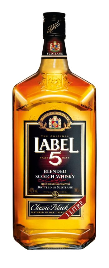 Label 5 Classic Black Scotch Whisky 100cl