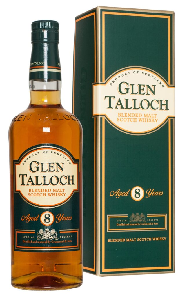 Glen Talloch Blended Malt Aged 8 Years Scot.Whisky 70cl