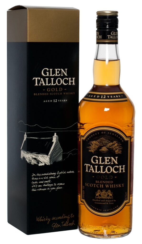 Glen Talloch Gold Blended Scotch Whisky 12 Years 70cl