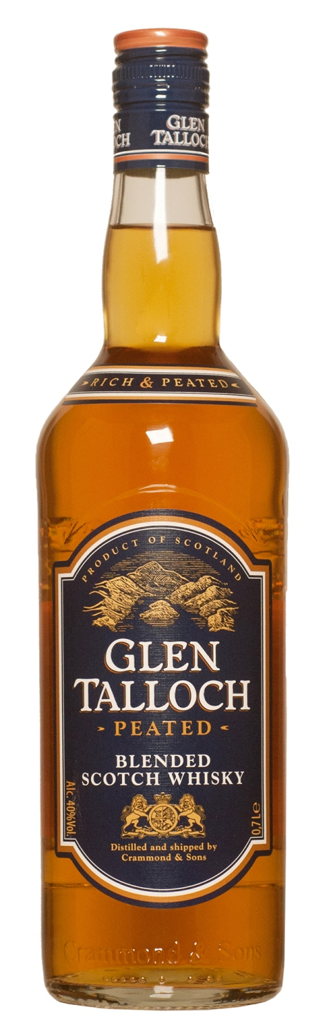 Glen Talloch Peated Blended Scotch Whisky 70cl