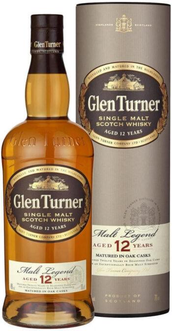 Glen Turner 12 YO Single Malt 70cl giftbox