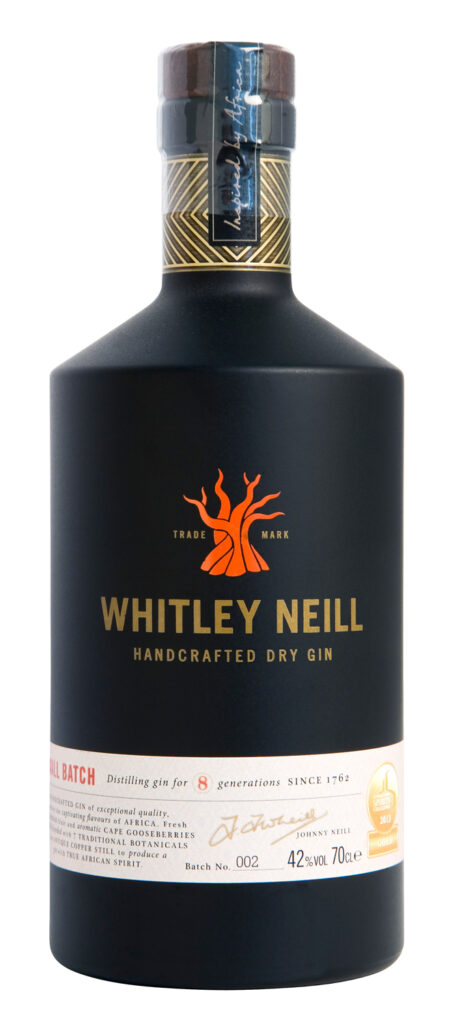 Whitley Neill Dry Gin 70cl 43%