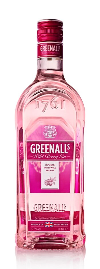 Greenall's Wild Berry Pink Gin 100cl