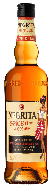 Negrita Spiced Golden 70cl