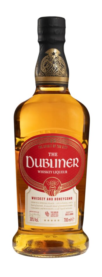 The Dubliner Irish Whiskey Honeycomb Liqueur 70cl