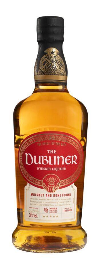 The Dubliner Irish Whiskey Honeycomb Liqueur 100cl