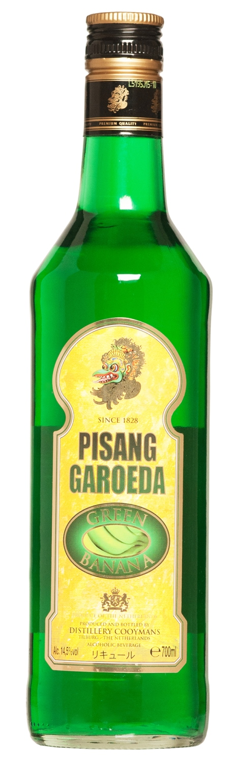 Pisang Garoeda Green Banana 70cl