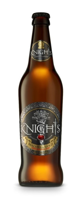 Knights Malvern Gold Cider 50cl bottle