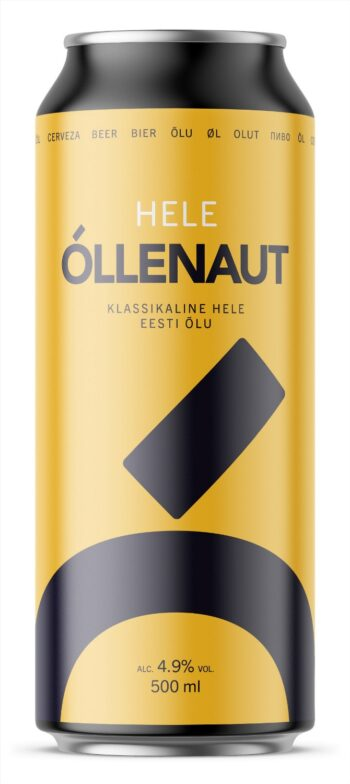Õllenaut светлый лагер 4.9% 50cl CAN