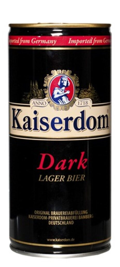 Kaiserdom Dark Lager Bier 100cl CAN