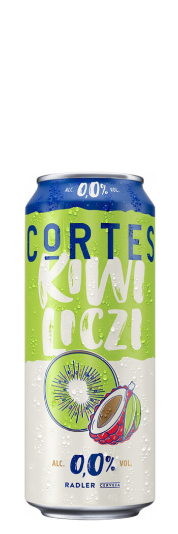Cortes Radler Kiwi Lyche Alcohol-Free 0.0% 50cl CAN