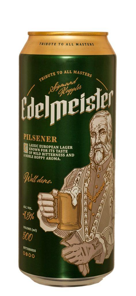 Edelmeister Pilsner 50cl CAN